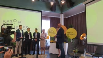 The stakeholders met on 4th July at the BEB & OP Business event in Kongsberg, Norway