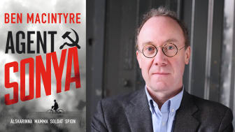 Miljonsäljande författaren och historikern Ben Macintyre har skrivit Agent Sonya, som nu kommer på svenska.