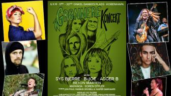 Grønnere Koncert 2019, plakat 1