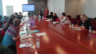 Från FUN Europes sammanträde i Bryssel den 12 april.