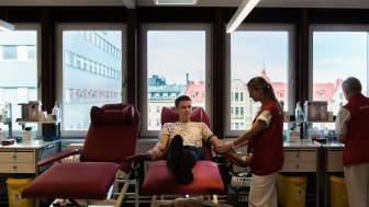 Årsstatistik visar positiv trend för blodgivningen under 2019