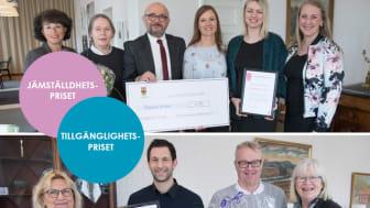 Örebro kommuns Jämställdhetspris och Tillgänglighetspris delades ut vid Kommunfullmäktige den 28 februari.