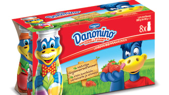 Danonino Drickyoghurt Dino 8x90