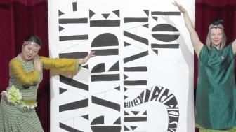 Carolina Johansson och Kristina Flygare ansvarar för festivalen Avantgarde 101. Foto: Joel Sandback.