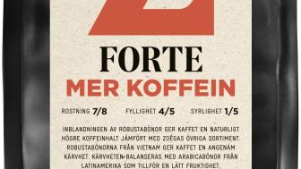 Zoégas Forte Mer Koffein