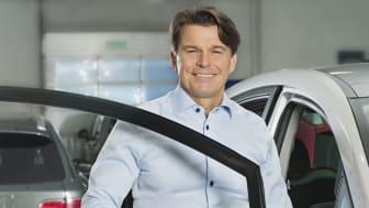 Stefan Burlin fortsätter som VD för Burlin Motor, och får ansvaret för Miklagruppens satsning på Toyota