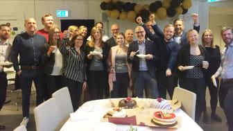 TBS Örebro firade SI:s positiva SI-besked med härliga sötsaker.