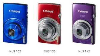 Canon lanserar tre spännande IXUS-kameror i ny stil