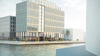 Nordic Choice Hotels nya hotell på Universitetskajen i Kalmar.