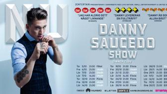 """Höstens datum för Danny Saucedos show """"NU"""" på Hamburger Börs"""