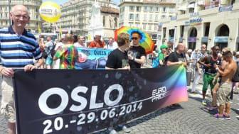 EUROPRIDE TIL OSLO I 2014