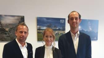 v.l.n.r.: Thorsten Glauber (Bayerischer Staatsminister für Umwelt und Verbraucherschutz), Andrea Belegante (BdS-Hauptgeschäftsführerin), Patrick Birnesser (BdS-Referent für Wirtschaft und Soziales)