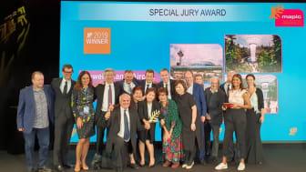 Jewel Changi Airport accorded Special Jury Award at MAPIC Awards 2019