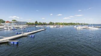 Der neue Stadthafen in Senftenberg (TMB-Fotoarchiv/Steffen Lehmann)