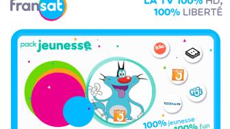 Nouvelle offre de chaînes Jeunesse sur FRANSAT