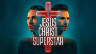 Peter Jöback och Ola Salo i Jesus Christ Superstar på Scandinavium