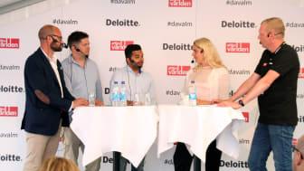 Fredrik Oscarson, Mobiento/Deloitte Digital, Per Mosseby,  SKL, Alok Alström, Uber, Ann Hellenius, Stockholms stad
