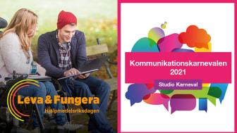 Påminnelse: Pressinbjudan till digitala event om hjälpmedelsförsörjning, funktionsnedsättning och kommunikation