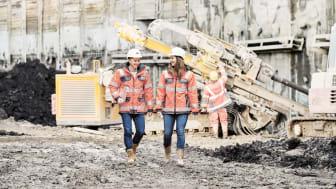"""Der Name ist Programm: Das neue Nachwuchsingenieurprogramm im ZÜBLIN Spezialtiefbau heißt """"DiveDeep!"""" und richtet sich an Absolventinnen und Absolventen von Ingenieurstudiengängen mit Schwerpunkt Geotechnik/Grundbau (Copyright: ZÜBLIN Spezialtiefbau)"""