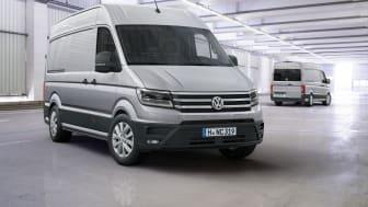 Den nye Crafter, der er udviklet og produceret af Volkswagen Erhvervsbiler, er kåret til Van of the Year 2017