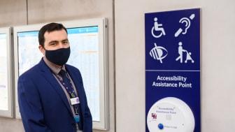 Tom Easdown, Accessibility Champion, London Bridge 1