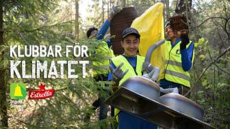 Klubbar För Klimatet 2020 arrangeras 9 maj av Estrella och Städa Sverige