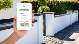 Finja Betong lanserer nytt digitalt verktøy for beregning av materiale til hagemur