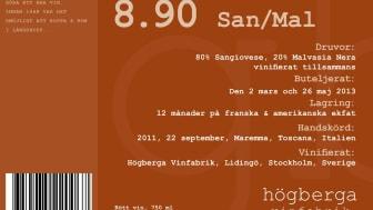 Nytt vin från Högberga Vinfabrik