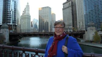 Lena Cederlöf, EkmanResor Ist Bussness Class, i Chicago