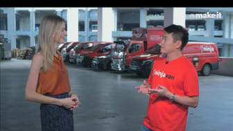 Ninja Van's CEO delivers masterful interview