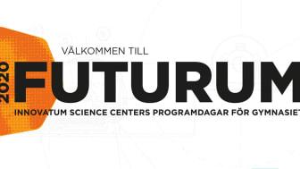Välkommen till FUTURUM 2020 - Innovatum Science Centers programdagar för gymnasiet.