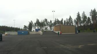 Skutskärs återvinningscentral kommer vara klar för invigning måndagen den 27 juni