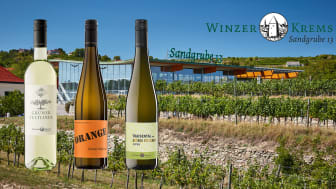 Winzer Krems moderna vineri på Sandgrube 13 i Kremstal