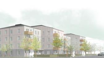 GotlandsHem står i begrepp att lämna in bygglovsansökan för 62 lägenheter i kvarteret Signallottan i Visby.