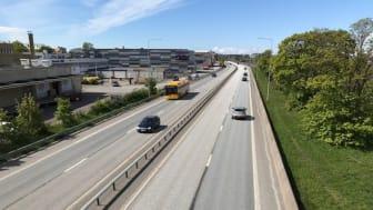 Stockholmsvägen ska bli trefilig