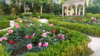 Trädgårdarna i Tianma, Yantai i Kina är platsen för Gourmand Awards i maj 2018.