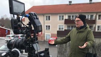"""Stefan Jansson - regissör och producent för """"Hoffmanns Droppar"""" som släpps 23 april."""