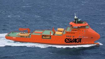 Blandt de mange beregninger bag designet af det nye skifteskib er blandt andet oplysninger om arbejdsprocessen: Hvornår gør skibet hvad? Hvor stor en del af året ligger det i havn? Hvor stor en del af året går skibet 15 knob – og i hvilken type vand?