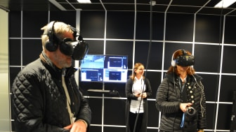 Deltagerne på Tafjord EnergiArena fikk være med på premieren av TAFJORDs første film tilpasset virtual reality. En heftig opplevelse!