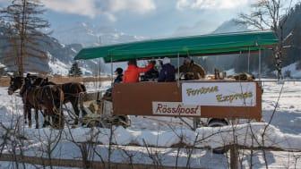 Fonduekutsche in Lenk, Berner Oberland (c) Lenk-Simmental Tourismus