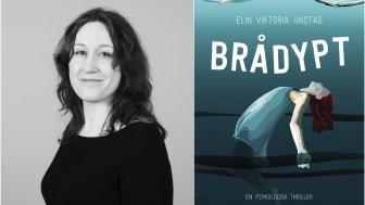 En psykologisk thriller i direkte forstand. Elin Viktoria Unstad har skrevet om en tenåring med depresjon og angst.