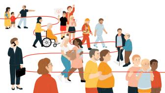 Idag lanseras Giva Sveriges Trendrapport 2021. Illustration Anna Loax.