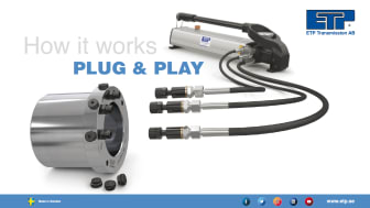 """""""it's Plug and Play, just like plugging in a unit to the wall socket """""""