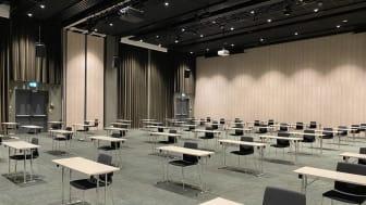 Bild: Enmetersregeln i konferensrum