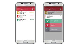 BESTmate® Alarm - Android app för smart larmhantering i vårdpersonalens smartphone.
