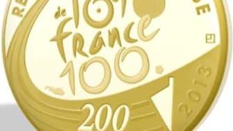 Tour de France - gullmynt
