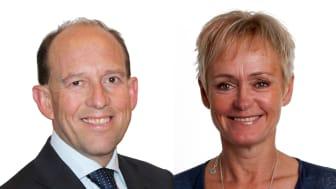 Karl Persson har utsetts till ny Head of Sweden och Marie Cronström till Chief Operating Officer och Deputy Head of Sweden.