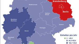 Brandenburger und Berliner schlucken die meisten Medikamente