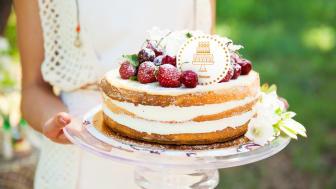 Riksbyggens Bonum seniorboende firar med tårta