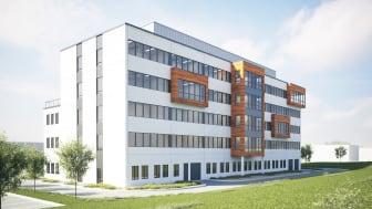 Kilenkrysset presenterar ett nytt kontorshus i expansiva Rosersberg, Sigtuna och hälsar samtidigt NCC Construction och NCC Roads välkomna